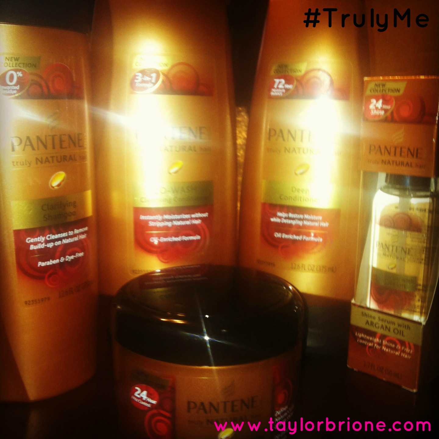 One Year Natural & Pantene Pro-V Truly Natural Product Review! #TrulyMe