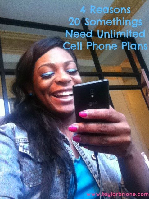 4 Reasons 20-Somethings Need Unlimited Cell Phone Plans