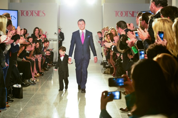 Tootsies Love in Fashion Johnny Manziel and Charlie Dina walking hand in hand at Tootsies Love's in Fashion