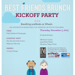 Best Friends Brunch Kickoff Party benefitting aniMeals on Wheels