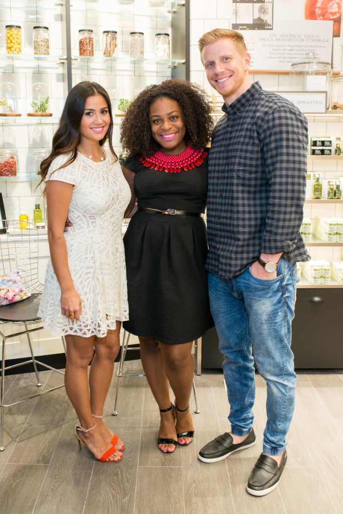 Origins Grand Opening & Ribbon Cutting Ceremony at The Galleria Houston with The Bachelor's Sean and Catherine Lowe