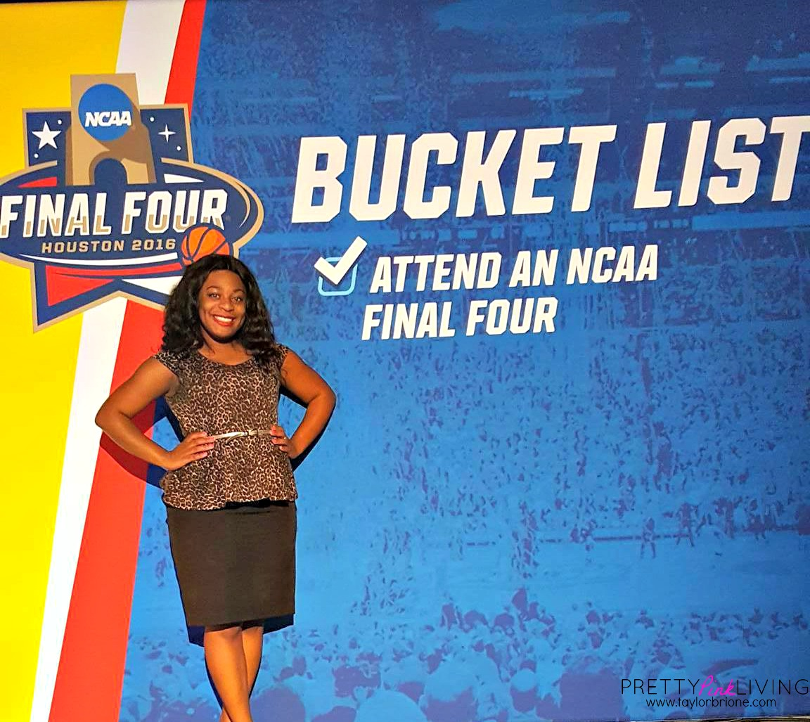 My Final Four Experience! #BuickBrackets