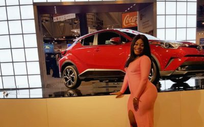 Houston Auto Show Preview Night Gala #OOTN Details