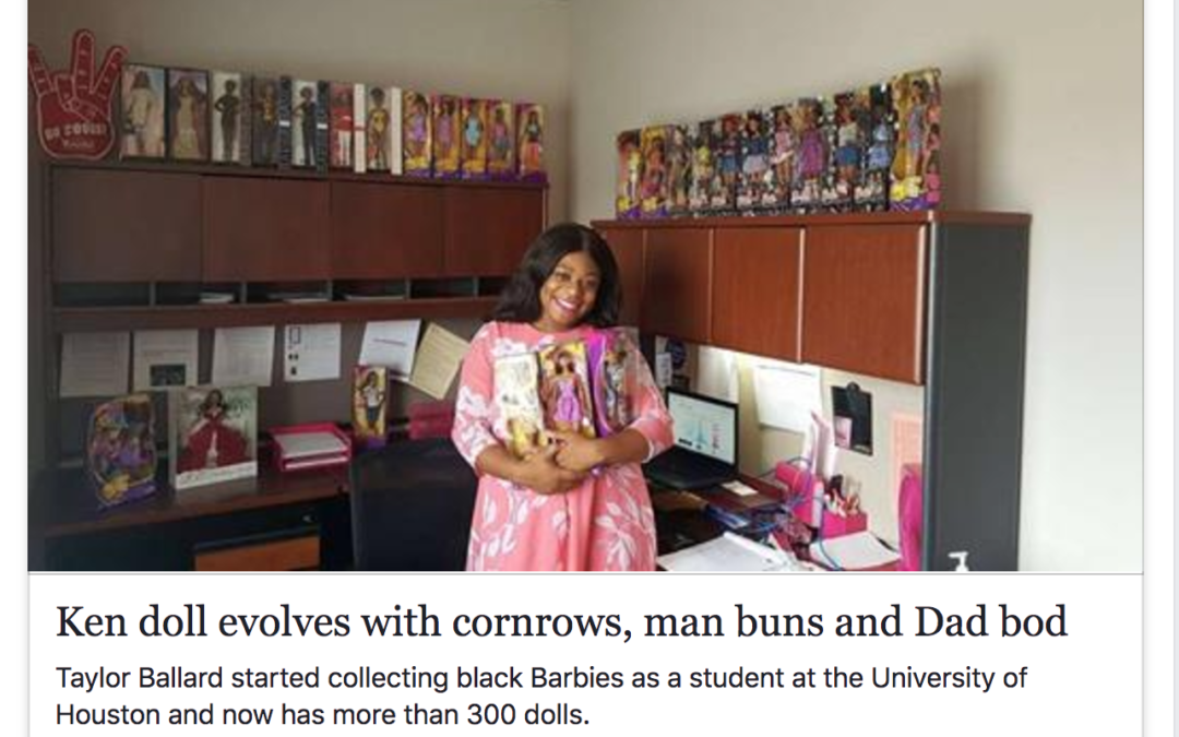 I'm in the news talking about Barbie!!